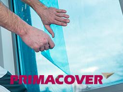 PrimaCover Glass beschermfolie voor glas, kozijnen en deuren