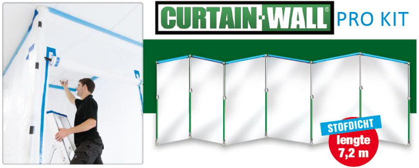 Curtain-Wall Pro Kit 7,2 meter