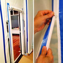 Curtain-Wall stofdeur