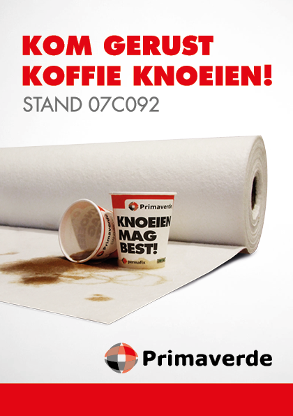 Bouwbeurs 2017 stand Primaverde