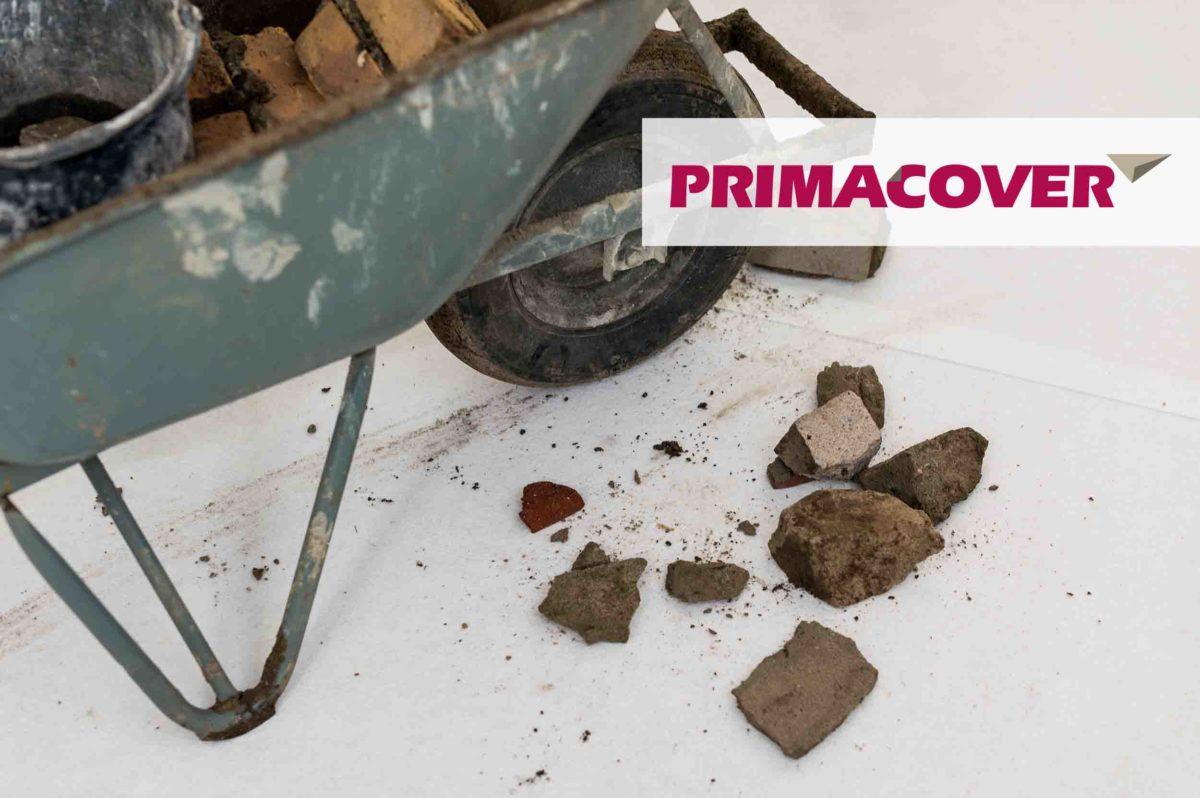 PrimaCover Standard - universeel zelfklevend afdekvlies - puin