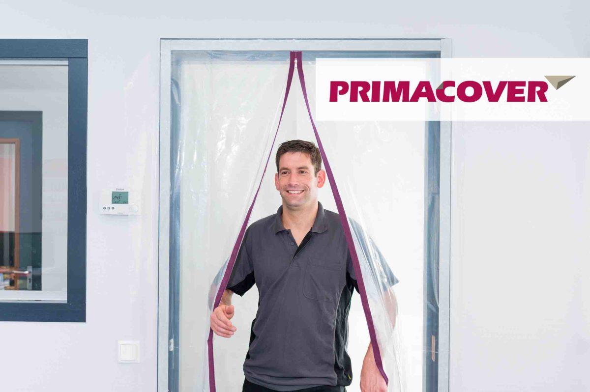 PrimaCover Zipper Door A - ritsdoorgang - stofdeur