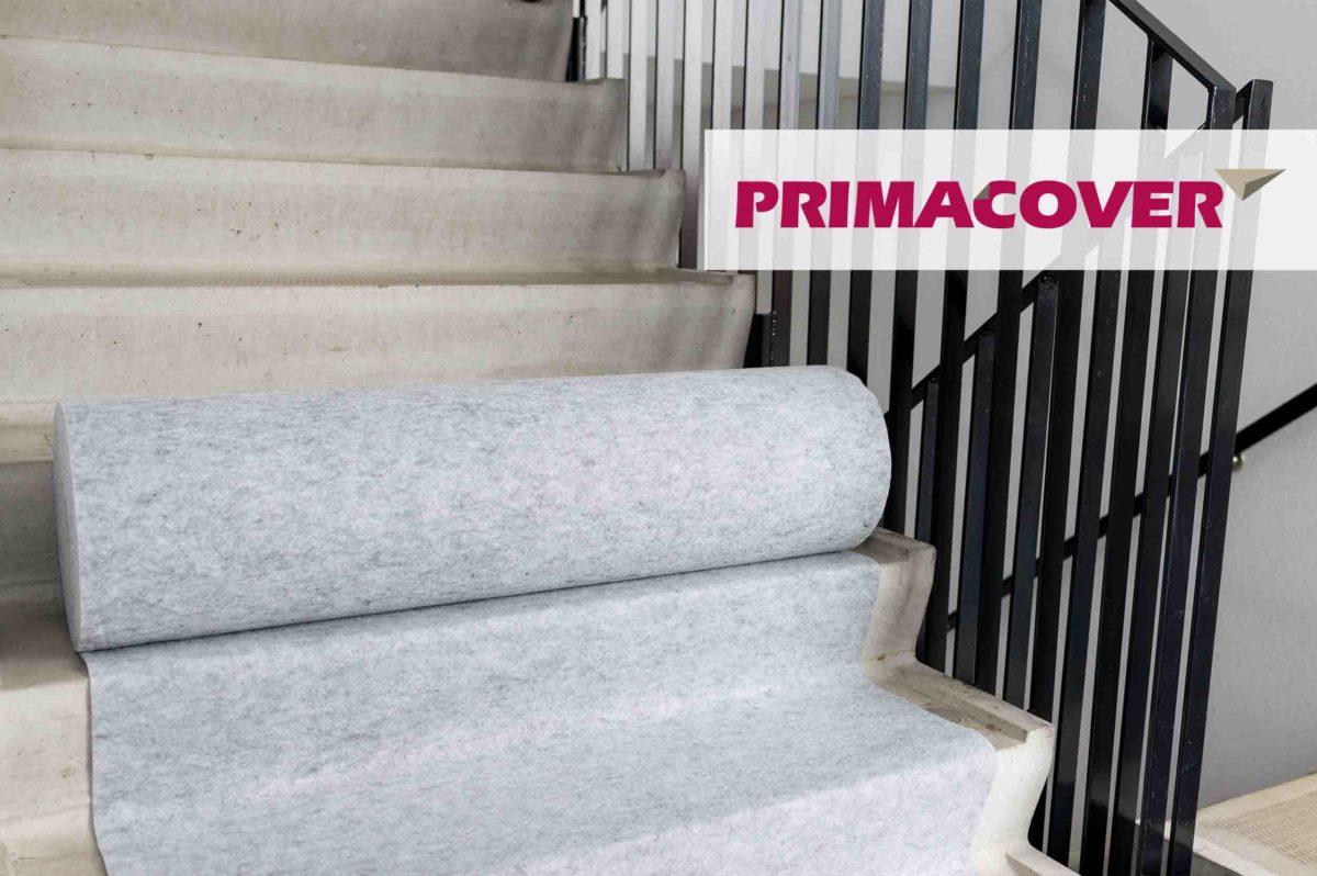 PrimaCover Robust - afdekvlies beton - vloer trap