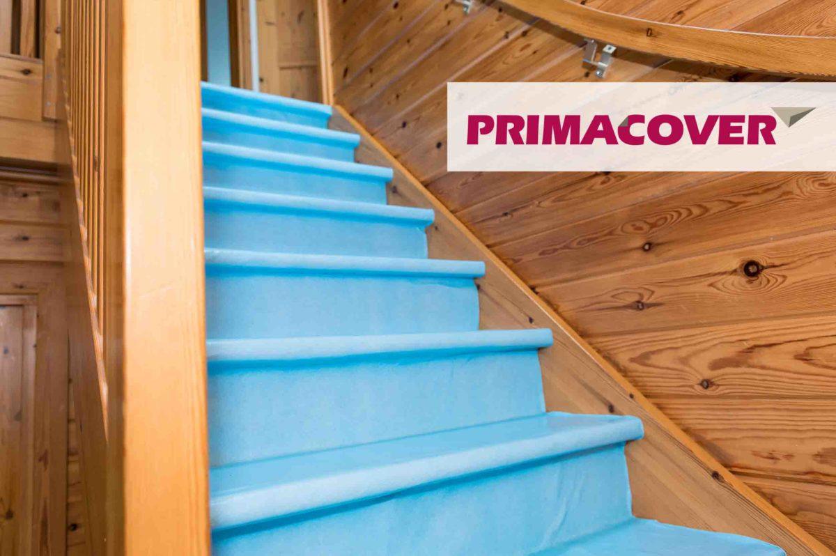 PrimaCover Evapo - damp-open afdekvlies - hout - trap vloer
