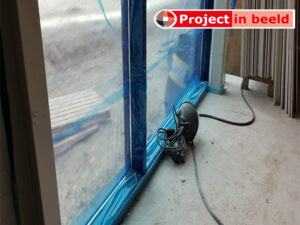 PrimaCover Glass - bescherming van glas tegen betonsluier - betonvloer storten