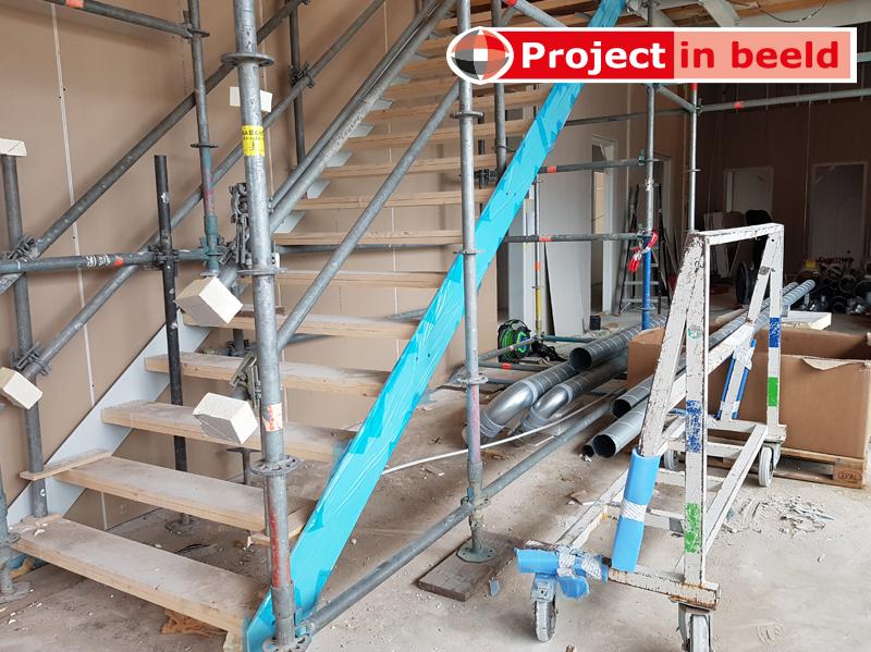 PrimaCover Glass gepoedercoate trap - bescherming tegen betonsluier