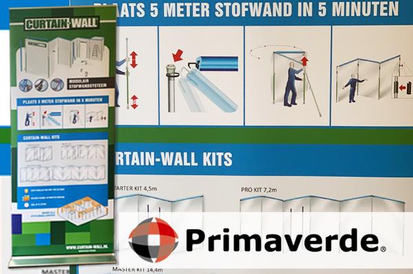 Primaverde - banner Curtain-Wall - ondersteuning