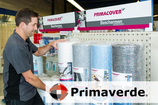 Primaverde - shop display winkelrek presentatie ondersteuning PrimaCover
