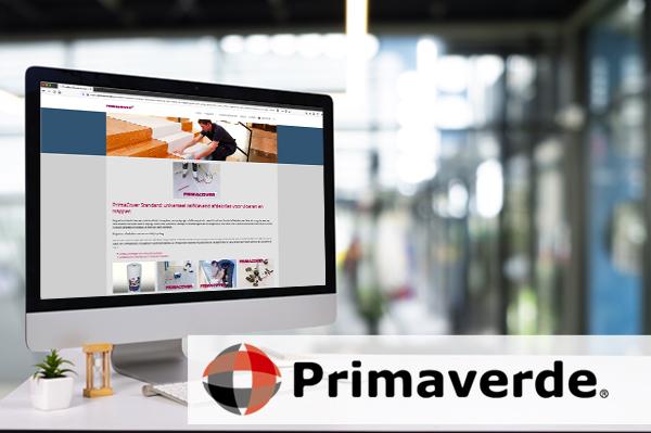 Primaverde - PrimaCover - ondersteuning verkoop website internet