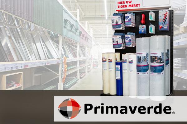 Primaverde - display winkelrek PrimaCover