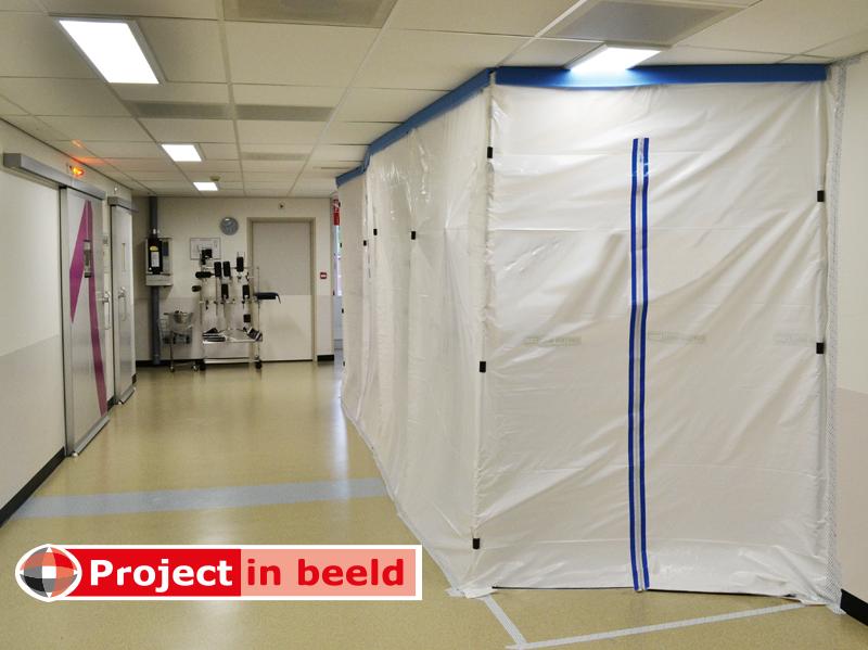 Curtain-Wall_Primaverde_ProjectinBeeld_ziekenhuis_afschermen_stofwand_medisch